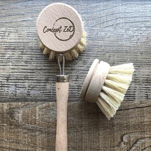 Brosses à tête rechargeable pour laver la vaisselle