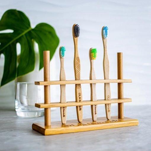 Porte-brosse à dent (4 trous)