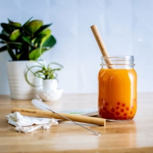 Pailles pour «bubble tea»