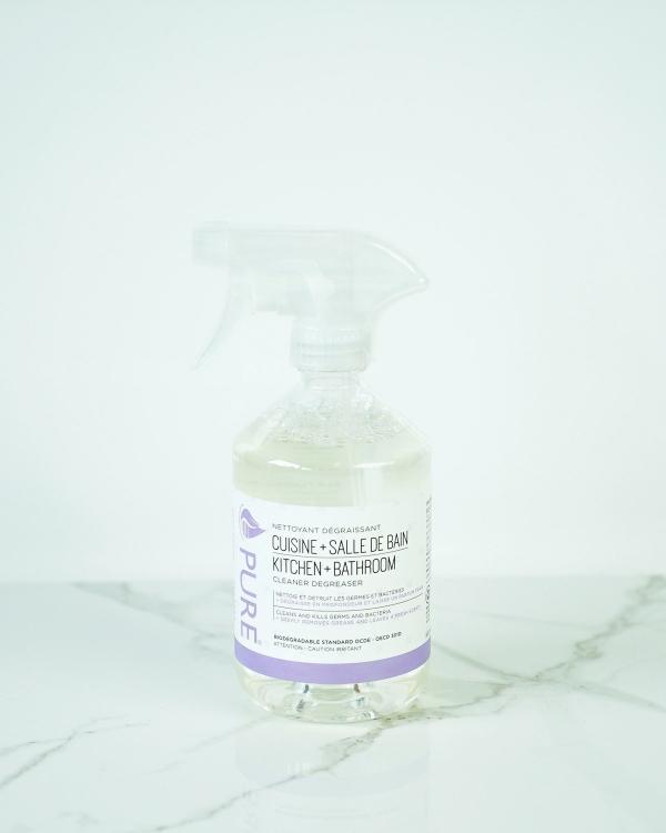 Nettoyant cuisine-salle de bain