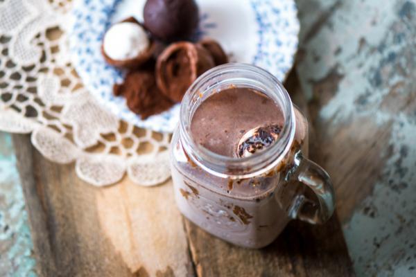 Bombe fondante pour chocolat chaud - Lait
