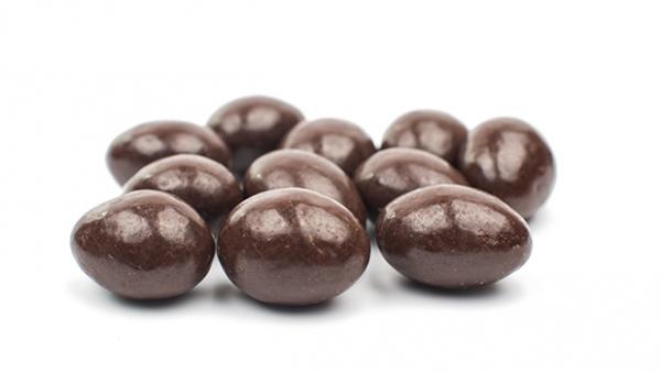 Amandes enrobées – Chocolat lait 1