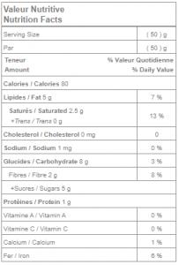 Bouchées de chocolat au quinoa 3