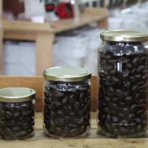 Canneberges enrobées – Chocolat noir
