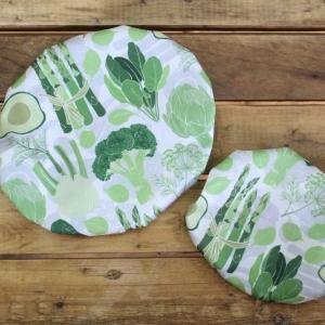 Couvre-bol Kimo - Légumes (verts) 1
