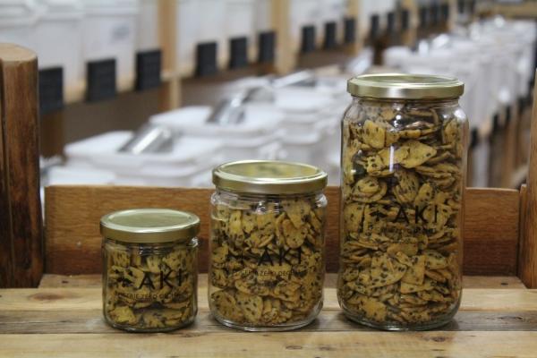 Croustille aux maïs et graines de lin 1