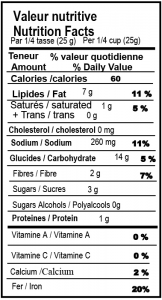 Croustilles de soya (chili & lime) 1