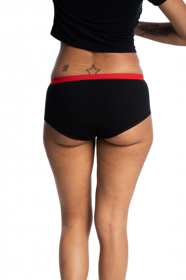 Culotte menstruelle de jour - Shorty