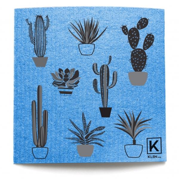 Essuie-tout réutilisable Kliin - Grand (Cactus) - Rose 1
