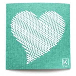 Essuie-tout réutilisable Kliin - Grand (Coeur)