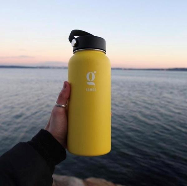 Gourde d'eau réutilisable - Mauve 2