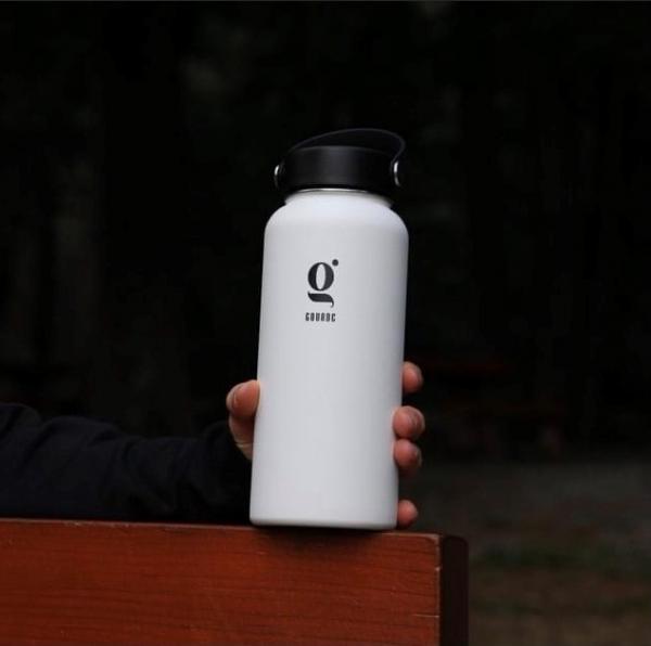 Gourde d'eau réutilisable - Mauve