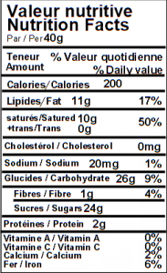 Macarons chocolatés 1