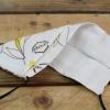 Masque réutilisable motif/blanc - Api-flex 1