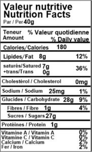 Raisins enrobés de yogourt 3