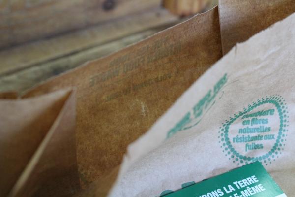 Sac à compost fibres naturelles - Petit 1
