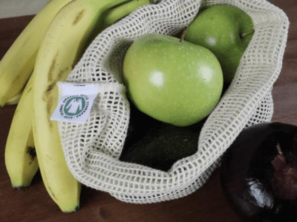 Sac en filet pour fruits et légumes