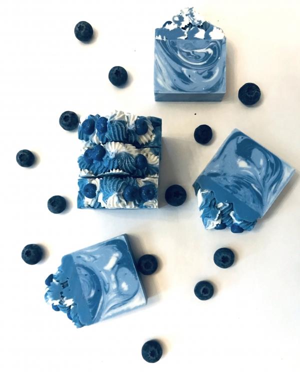 Savon artisanal - Bleuets givrés