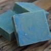 Savon d'artisan pour le corps - Hibiscus & bleuet 1