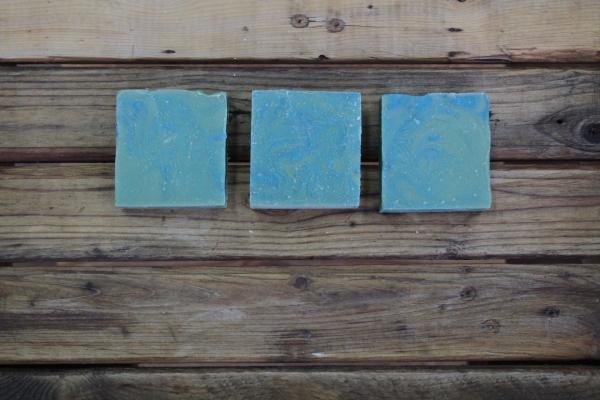Savon d'artisan pour le corps - Hibiscus & bleuet