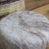 Savon exfoliant en laine d'alpagas - Lavande 1