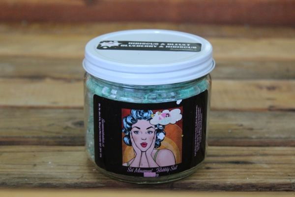 Sel de bain moussant - Hibiscus & bleuet