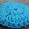 Tampon à récurer lavable - Turquoise 3