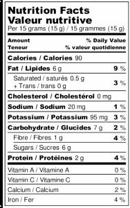 Tartinade noisettes & chocolat au lait 1