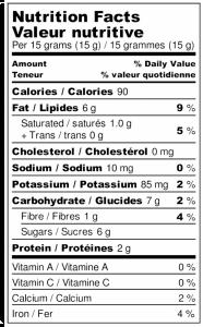 Tartinade noisettes, chocolat noir & érable 1